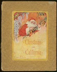 Christmas in California by Eleanor Tucker 1924 1st edition