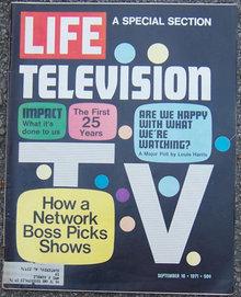 Life Magazine September 10, 1971 Special Television