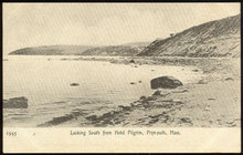 Postcard of Looking South from Hotel Pilgrim Plymouth, Massachusetts