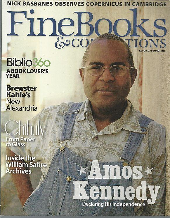 Fine Books and Collections Magazine Summer 2012 Amos Kennedy/New Alexandria