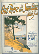 Out There in the Sunshine With You 1923 Sheet Music