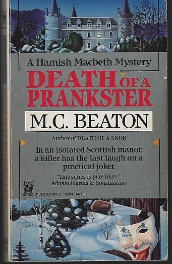 Death of a Prankster by M. C. Beaton A Hamish Macbeth Cozy Mystery #7 1993