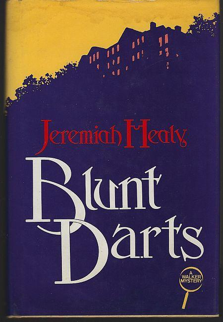 Blunt Darts by Jeremiah Healy 1984 1st edition w/ Dust Jacket John Francis Cuddy