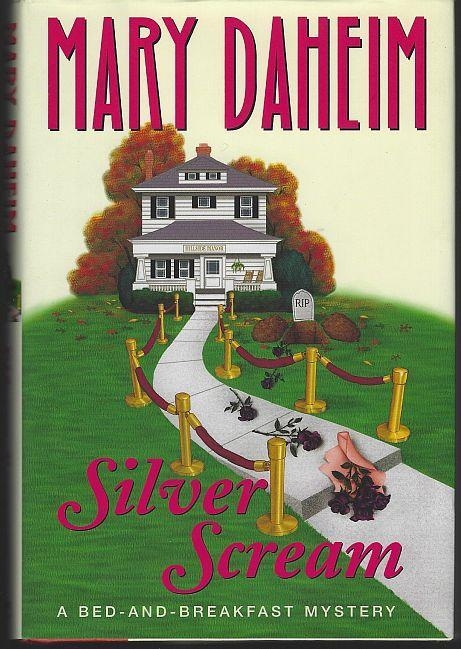 Silver Scream by Mary Daheim Bed-And-Breakfast Cozy Mystery #18 2002 1st ed DJ