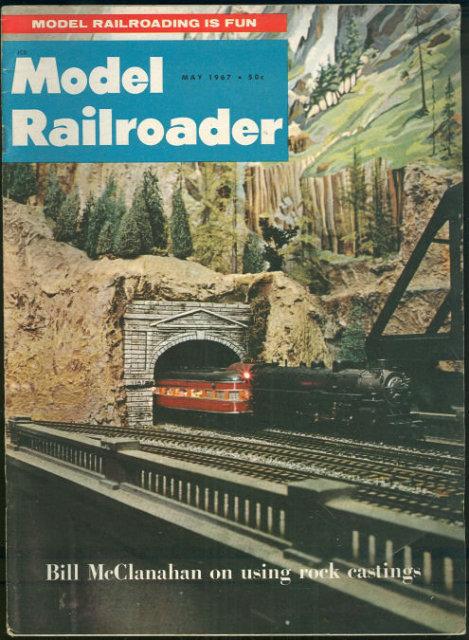 Model Railroader Magazine May 1967 Bill McClanahan
