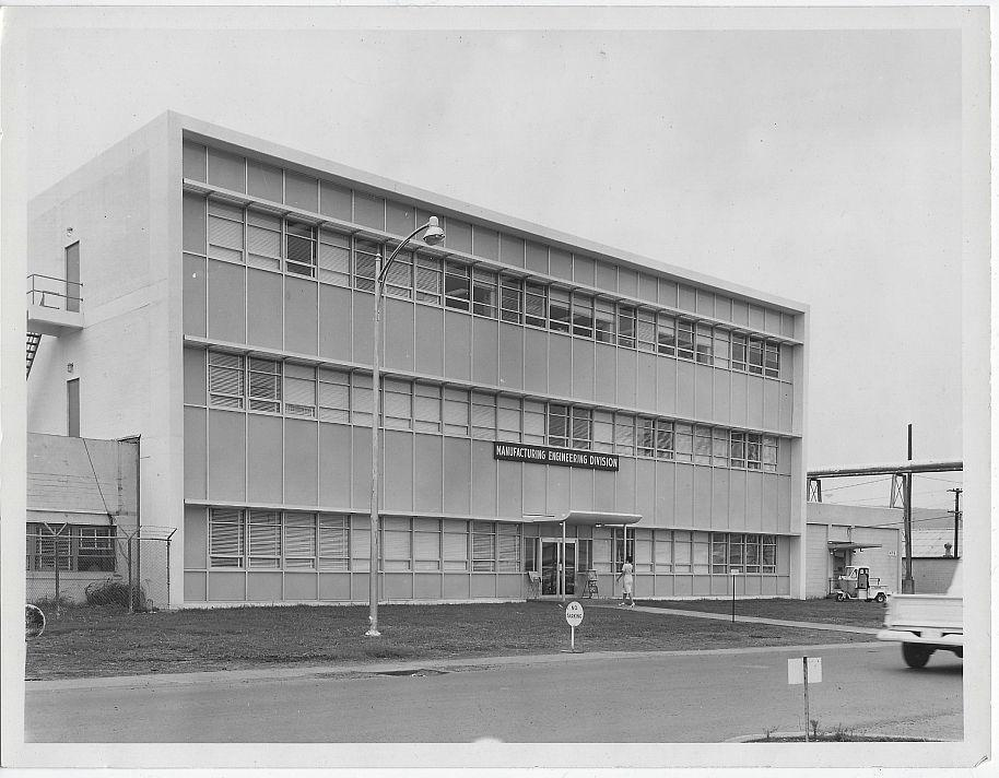 Original Photograph of Manufacturing Engineering Division Building, Marshall Space