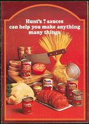 Hunt's Seven Sauces Can Help You Make Anything 1972