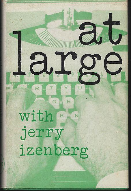 At Large by Jerry Izenberg Sports Journalist Newark, New Jersey 1968 w/ DJ