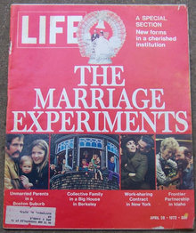 Life Magazine April 28, 1972 Marriage Experiment cover