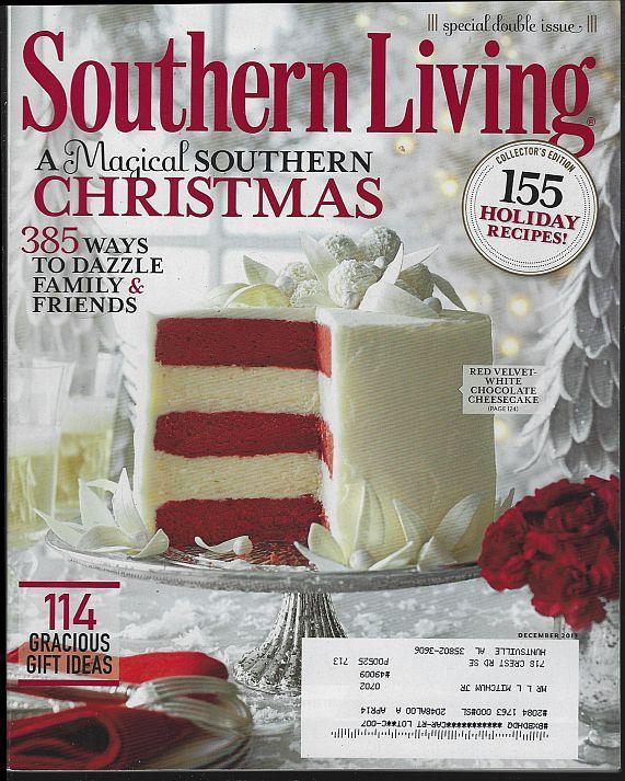 Southern Living Magazine December 2013 Magical Southern Christmas/Wreaths/Cajun