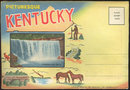 Picturesque Kentucky 1937 Curt Teich Souvenir Folder