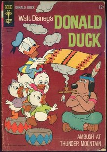 Donald Duck Ambush at Thunder Mountain March 1966