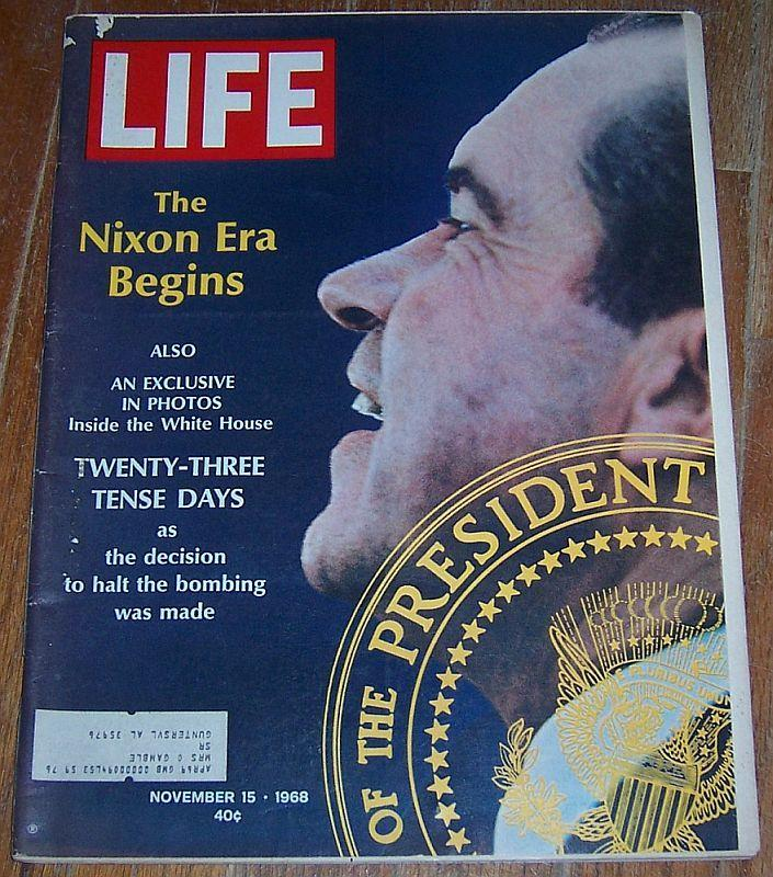 Life Magazine November 15, 1968 Nixon Era Begins Cover/Scientology/Gordon Parks