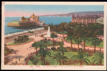 Postcard of Nice, Le Jardin Albert et le Casino, France