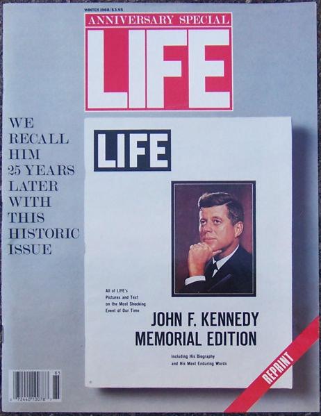 Life Magazine Winter 1988 Kennedy Issue Reprint