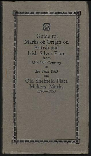 British and Irish Silver Assay Office Marks 1544-1959 by Frederick Bradbury 1964
