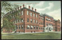 Postcard of Chemistry Building, University of Illinois