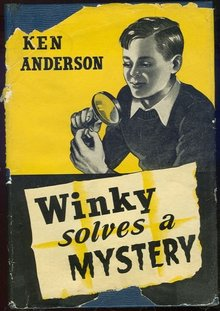 Winky Solves a Mystery by Ken Anderson 1948 1st ed DJ