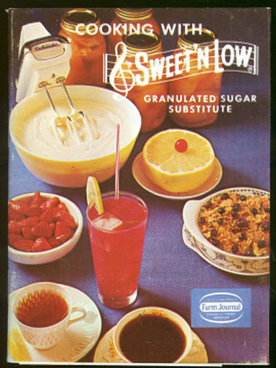 Cooking with Sweet 'n Low Sugar Substitute 1965 Recipes