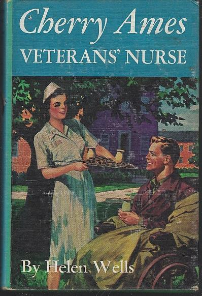 Cherry Ames Veterans' Nurse by Helen Wells 1946 Pictorial Cover Girl's Series #6