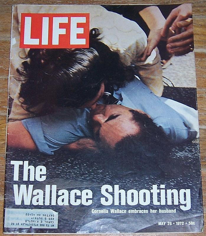 Life Magazine May 26, 1972 The Wallace Shooting Cover