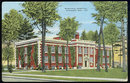 Postcard of Municipal Hospital, Shawano, Wisconsin