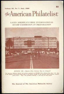 American Philatelist July 1968  Latin America's Exhibit