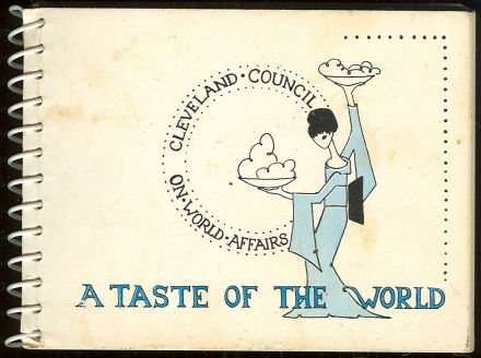 Cleveland Council On World Affairs 1964 Cookbook
