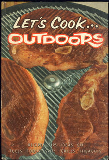 Let's Cook Outdoors 1961 Sears Roebuck Grilling Recipes