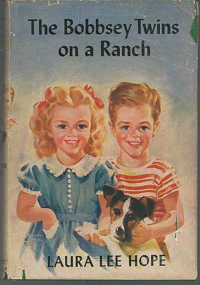 Bobbsey Twins on a Ranch by Laura Lee Hope 1935 with Dust Jacket Illustrated #28
