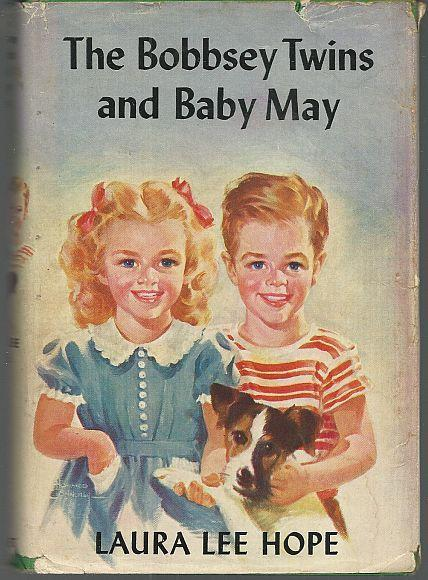 Bobbsey Twins and Baby May by Laura Lee Hope 1924 with Dust Jacket Illus #17