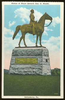 Statue of Major General Meade, Gettysburg, Pennsylvania