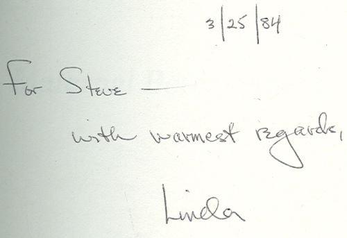 Maternal Bereavement Signed by Linda Edelstein 1984 1st