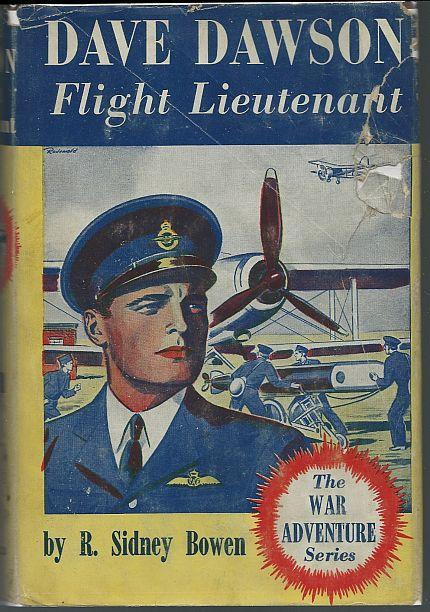Dave Dawson Flight Lieutenant by R. Sidney Bowen 1941 Boy's Series #5 DustJacket