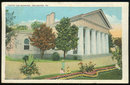 Postcard Custis Lee Mansion, Arlington, Virginia 1928