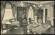 Postcard Longfellow's Study, Cambridge, Massachusetts