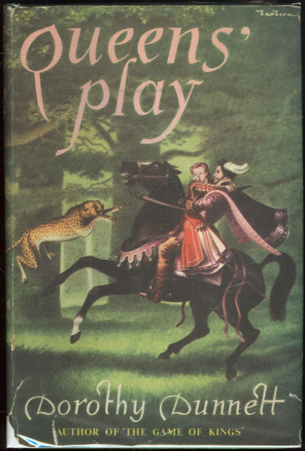 Queen's Play by Dorothy Dunnett 1964 1st edition DJ