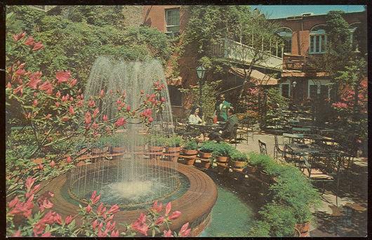 Postcard of Pat O'Brien's Restaurant, New Orleans, Louisiana
