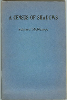 Census of Shadows Signed Poetry by Edward McNamee