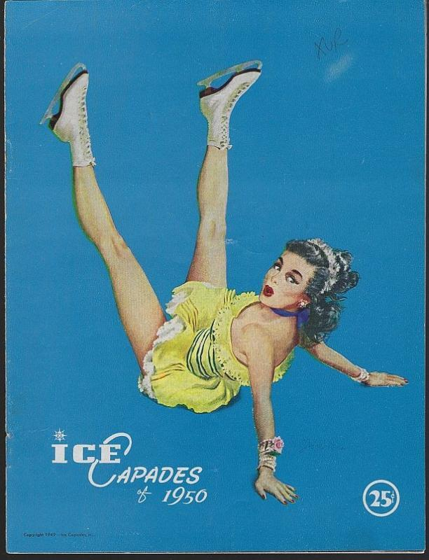 Ice Capades Tenth Edition 1950 Program Walt Disney Toy Shop/Bobby Sprecht