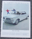 1964 Pontiac Le Mans Automobile Magazine Advertisment