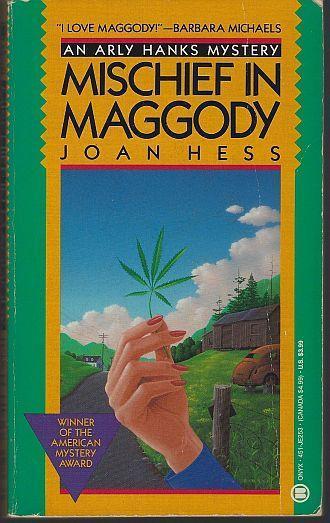 Mischief in Maggody by Joan Hess Arly Hanks Cozy Mystery #2 1991