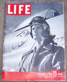 Life Magazine December 9, 1946 Jet Pilot on cover