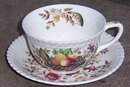 Johnson Bros England Windsor Ware China Pomona Cup and Saucer