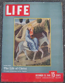 Life Magazine December 23, 1946 Life of Christ Cover