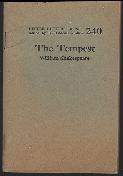 Tempest by William Shakespeare Little Blue Book #240 Haldeman-Julius