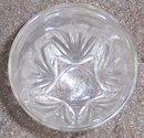 Vintage Federal Glass Star Juice Tumbler