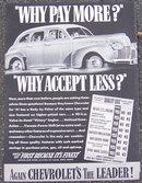 1941 Chevrolet for '41 Life Magazine Advertisment