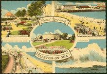 Postcard of Pleasant Memories of Clacton on Sea