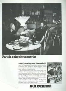 Air France Paris is For Memories 1967 Magazine Ad